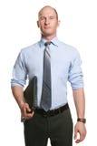 Hombre de negocios atractivo Imagen de archivo libre de regalías
