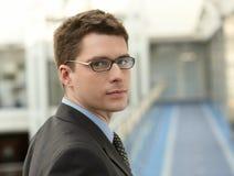 Hombre de negocios atractivo imagen de archivo