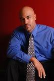 Hombre de negocios atractivo. Imagen de archivo libre de regalías