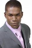 Hombre de negocios atractivo en juego Imagen de archivo