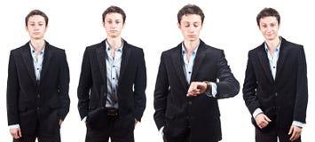 Hombre de negocios atractivo joven Imagen de archivo