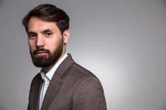 Hombre de negocios barbudo Fotos de archivo libres de regalías