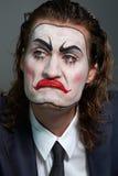 Hombre de negocios bifacial Imagen de archivo
