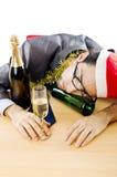 Hombre de negocios borracho Fotos de archivo