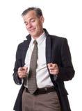 Hombre de negocios borracho foto de archivo