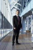 Hombre de negocios cómodo Foto de archivo