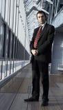 Hombre de negocios cómodo Fotos de archivo