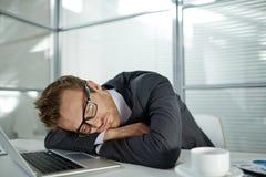 Hombre de negocios cansado fotos de archivo libres de regalías