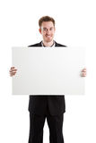 Hombre de negocios caucásico imágenes de archivo libres de regalías