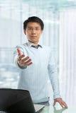 Hombre de negocios chino joven Foto de archivo libre de regalías