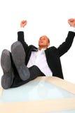 Hombre de negocios con éxito Imagen de archivo