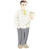 Hombre de negocios con café Imagen de archivo