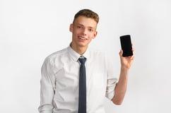Hombre de negocios con estilo joven Fotografía de archivo libre de regalías