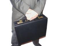 Hombre de negocios con la cartera Fotografía de archivo
