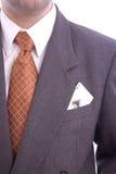Hombre de negocios con un as Fotos de archivo