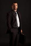 Hombre de negocios confiado Imagen de archivo