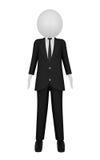 Hombre de negocios 3D Fotos de archivo