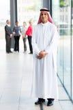 Hombre de negocios de Oriente Medio Imagen de archivo