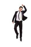 Hombre de negocios de salto. Imágenes de archivo libres de regalías