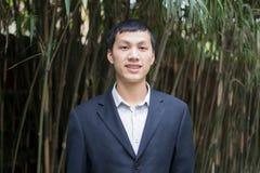 Hombre de negocios de Yong Foto de archivo libre de regalías