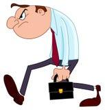 Hombre de negocios decepcionante Foto de archivo libre de regalías