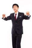 Hombre de negocios decepcionante joven Imagen de archivo