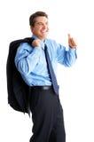 Hombre de negocios del éxito Imágenes de archivo libres de regalías