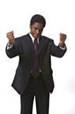 Hombre de negocios del African-American Imágenes de archivo libres de regalías
