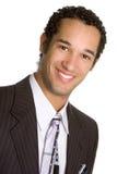 Hombre de negocios del afroamericano foto de archivo libre de regalías