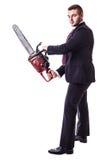 Hombre de negocios del asesino Foto de archivo libre de regalías