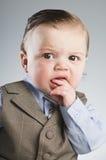 Hombre de negocios del bebé imagen de archivo libre de regalías