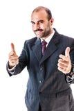 Hombre de negocios del compinche Foto de archivo libre de regalías