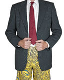 Hombre de negocios del trabajo doméstico Imagen de archivo libre de regalías