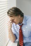 Hombre de negocios deprimido imagenes de archivo
