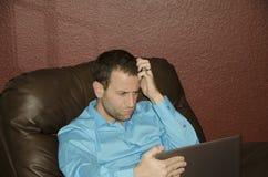 Hombre de negocios desconcertado Imagen de archivo