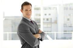 Hombre de negocios elegante Foto de archivo
