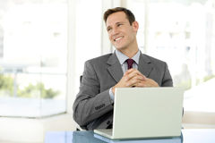 Hombre de negocios elegante Imágenes de archivo libres de regalías