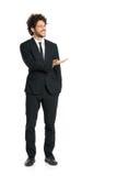 Hombre de negocios elegante Giving Presentation Fotos de archivo
