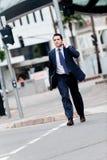 Hombre de negocios en ciudad Fotografía de archivo