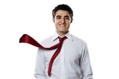 Hombre de negocios en la acción Imagen de archivo