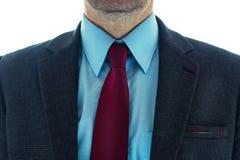 Hombre de negocios en traje elegante foto de archivo