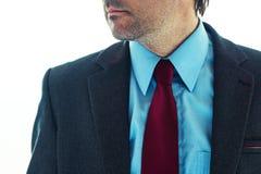 Hombre de negocios en traje elegante fotos de archivo libres de regalías