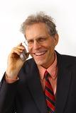 Hombre de negocios en un juego foto de archivo