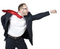 Hombre de negocios energizado Imagenes de archivo