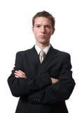 Hombre de negocios enojado Fotos de archivo libres de regalías
