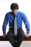 Hombre de negocios fallado Imagen de archivo libre de regalías