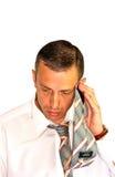 Hombre de negocios fatigado imagenes de archivo
