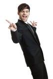 Hombre de negocios feliz Imagenes de archivo