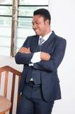 Hombre de negocios feliz Fotografía de archivo