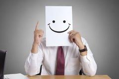 Hombre de negocios feliz Concept fotos de archivo libres de regalías